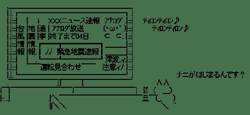 地震 TV