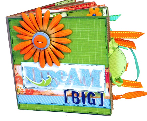 Dream Big Scrapbook 1