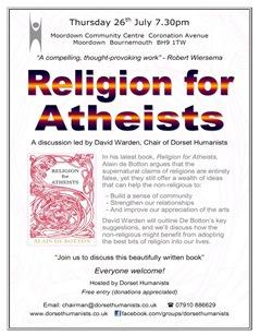 Religion for Atheists Poster