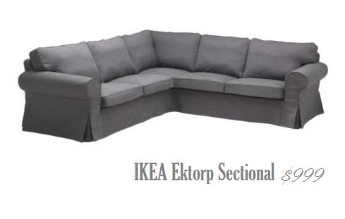 IKEA sectional