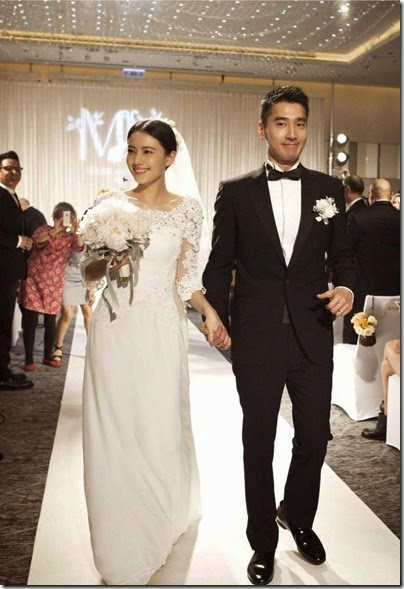 Mark Chao X Gao Yuan Yuan Wedding 赵又廷 高圆圆 婚礼 04