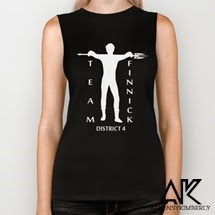 """Team Finnick"" Biker Tank from August Decorous 