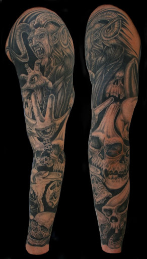 full sleeve tattoo designs for