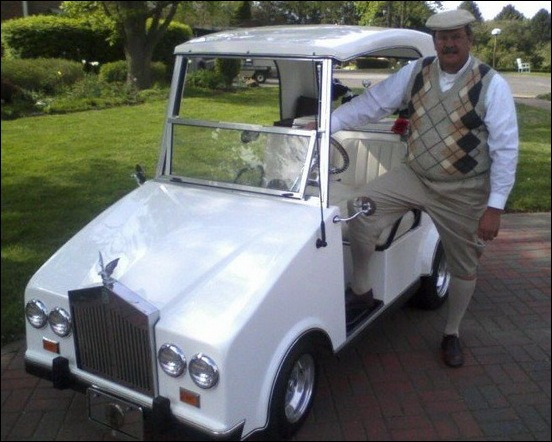 most luxurious golf carts to in style 14