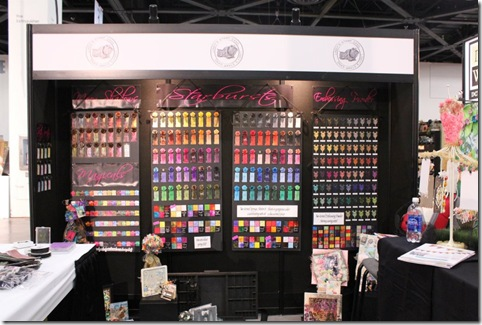 CHA booth color
