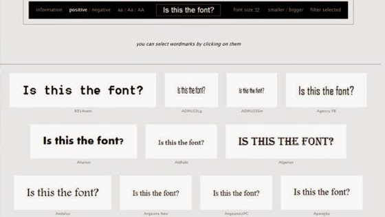 Wordmark.it Instantly Previews All Your Installed Fonts in the Browser via Lifehacker