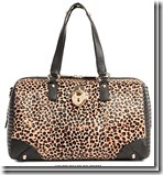 Juicy Couture Leopard Print Shoulder Bag