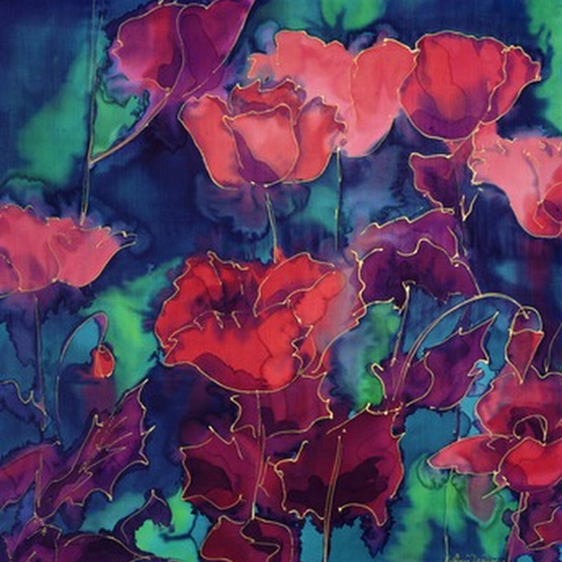 Virginia Wilson – Silk Paintings