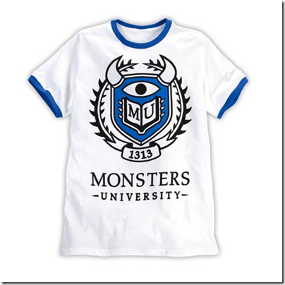 Monster University Official Clothing - Tee Shirt Men