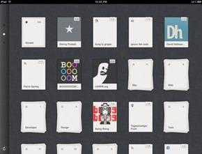 Reeder para iPad