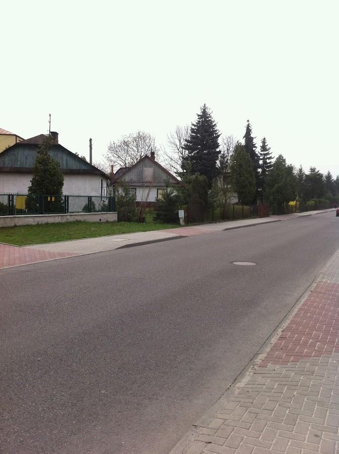 Улица в Бяла-Подляске
