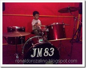 Violino Ridho Putra Kembali Berlatih Drum di JM 83 STUDIO