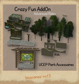 UCEP Park Accessoires Crazy Fun AddOn (Advanced Rides) lassoares-rct3