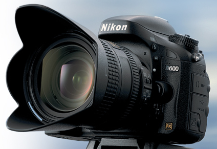 Nikon D600 Digital Camera with 24-85mm f/3.5-4.5G ED VR Lens