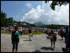 Grandfather Mtn NC gospal festival