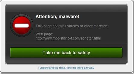 Bitdefender TrafficLight malware individuato