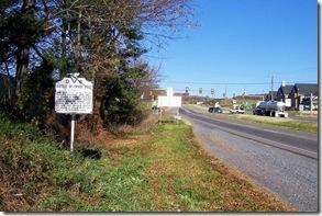 Battle of Cross Keys marker D-6 on U.S. Route 33 east of Harrisonburg, VA