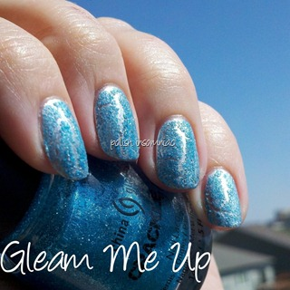 China Glaze Gleam Me Up 2