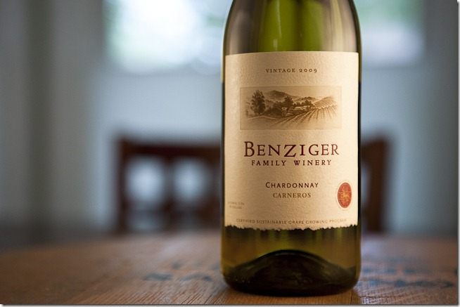 2009 Benziger Family Winery Carneros Chardonnay-1