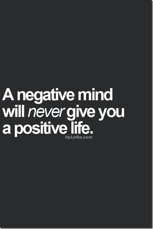 posetive thinking