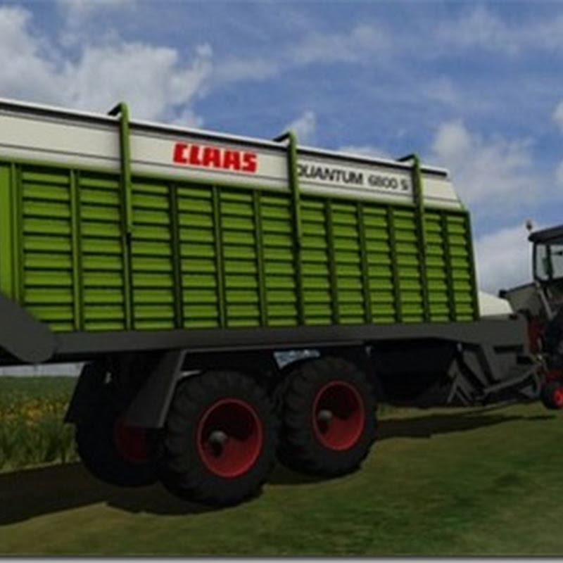 Farming simulator 2013 - Claas Quantum 6800s
