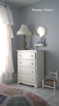 sweet little girl's room makeover