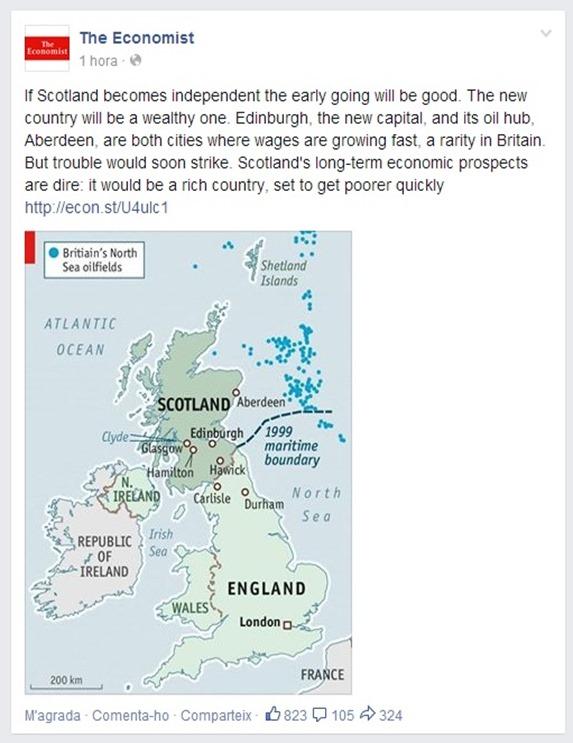 Ligam Escòcia The Economist