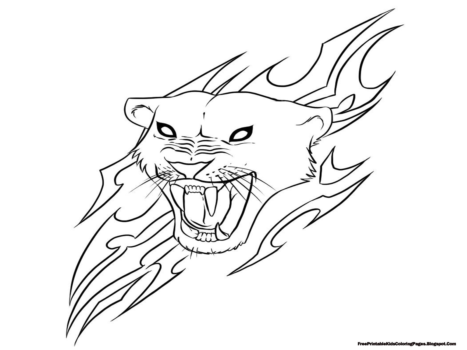 printable coloring pages 3 jaguar
