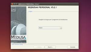 MEDUSA4 Personal in Ubuntu Linux