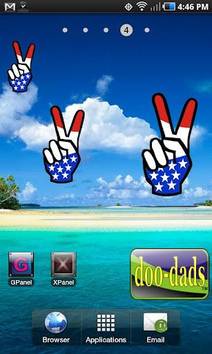 Peace Fingers doo-dad
