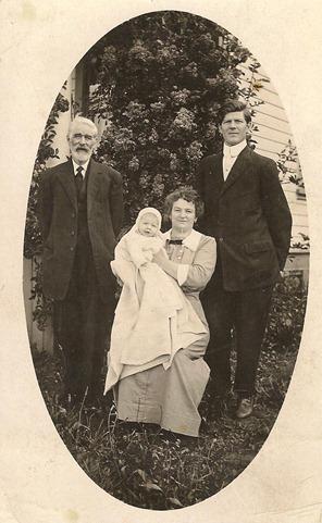Postcard Cyco Lizzie Dawson Family Dorset 1