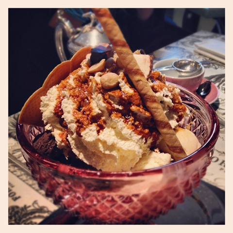 Day #114 of #project366 - an enormous ice-cream sundae