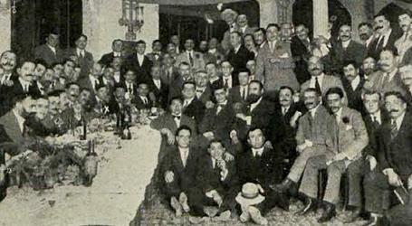 1913-10-12 Barcelona Banquete a Bombita