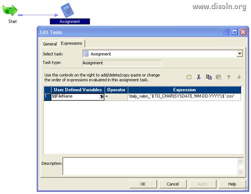 Informatica Assignment Task