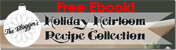 Free Recipe Ebook from Setting for Four #recipe #ebook #free #holiday