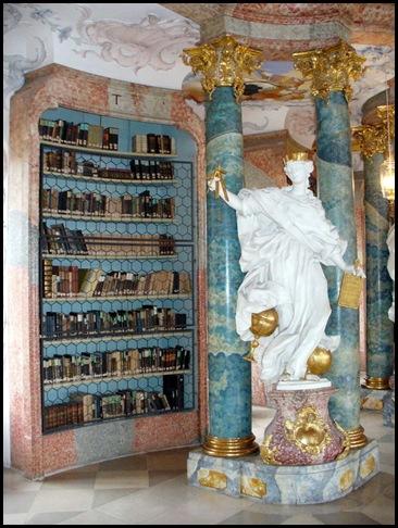 Bibliothèque du Monastère de Wiblingen, Ulm, Allemagne -2