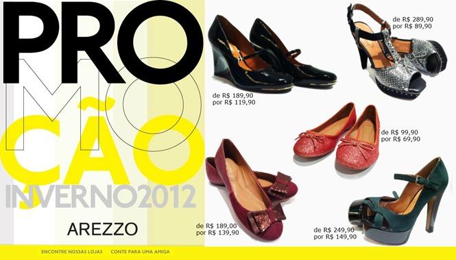 arezzo liquidacao inverno 2012 shopping estacao sapatos