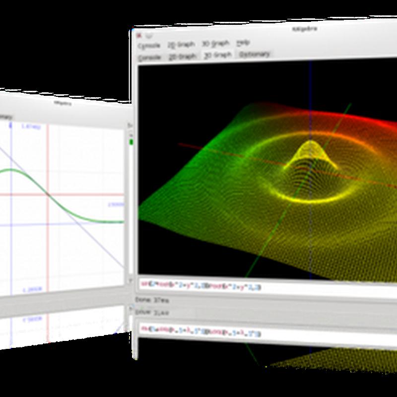 KAlgebra es una aplicación que puede sustituir su calculadora gráfica: Introducción y Sintaxis.