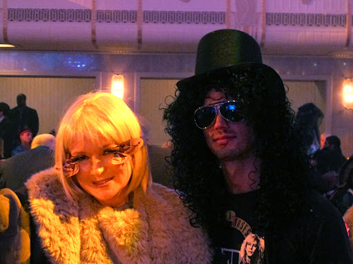 Motha and my Jared, who is dressed as Slash.