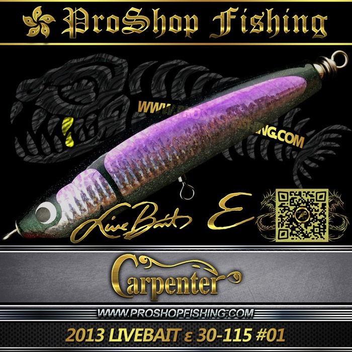 carpenter 2013 LIVEBAIT ε 30-115 #01.5
