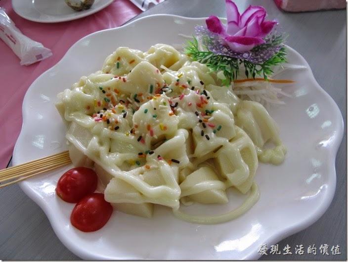 台南-和樂食堂。綠竹涼筍(夏季限定)。這竹筍香甜不苦,蠻道地的。