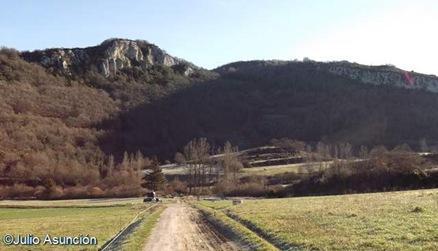 El castro de Burdigain y la peña de Atatxabal - Garaioa - Valle e Aezkoa