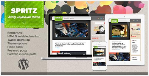 HTML5 responsive theme