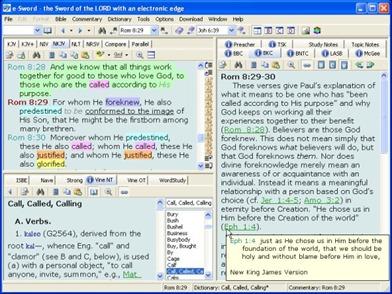 Screenshot do e-Sword