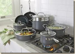 pots & pans on stove