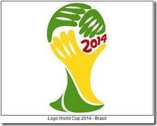 Logo Piala Dunia 2014 Brasil