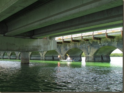 kayaking around sunshine key rv park