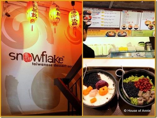 Snowflake Taiwanese Desserts, Subang