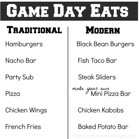 Game Day Eats Easy Menu Ideas for you Big Game Party