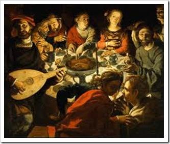 Jesus na casa de Mateus